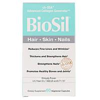 BioSil, Активатор Коллагена, Collagen Generator, Natural Factors, 60 вегетарианских капсул