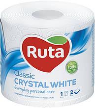 """Папір туалетний """"Ruta"""" Classic 1рул 2ш білий"""