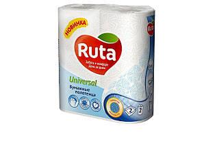 """Рушники паперові """"Ruta"""" Universal 2рул 2ш білі"""
