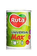 """Рушники паперові """"Ruta"""" Max 1рул 2ш білі"""