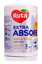 "Рушники паперові ""Ruta"" Selecta Mega roll EA 1рул 3ш білі"