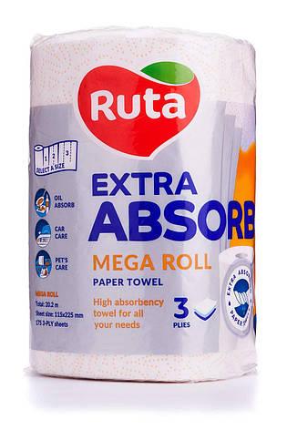 "Рушники паперові ""Ruta"" Selecta Mega roll EA 1рул 3ш білі, фото 2"