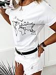 """Стильна жіноча футболка """"Земля"""" """"Стильно/Модно, фото 2"""