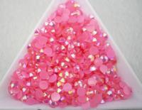 Розовый | AB Pink Акриловые стразы Resin