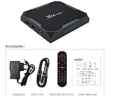"Smart TV Приставка Smart TV X96 Max + Plus, 4gb/32гб s905x3 h96 СмартТВ box a95x air ""Настроена для УКРАИНЫ"", фото 3"
