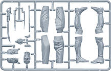 Французский гренадёр Императорской старой гвардии. Сборная пластиковая фигура в масштабе 1/16. MINIART 16017, фото 3