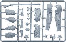 Французский гренадёр Императорской старой гвардии. Сборная пластиковая фигура в масштабе 1/16. MINIART 16017, фото 2