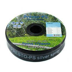Шланг туман Presto-PS стрічка Silver Spray довжина 100 м, ширина поливу 10 м, діаметр 45 мм (703508-7)