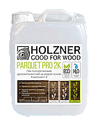 "Лак для паркету ""HOLZNER Parquet Pro 2K"", напівматовий, 5 л"
