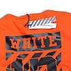 Футболка мужская оранжевая с принтом OFF-WHITE №13 Ф-10 ORN L(Р) 19-651-020-001, фото 8