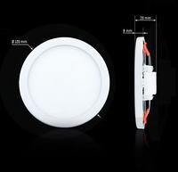 Светильник СL-R6W-5 6Вт круглый 5000К, фото 1