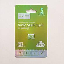 Карта памяти MicroSDHC Hoco 8 GB 10 Class
