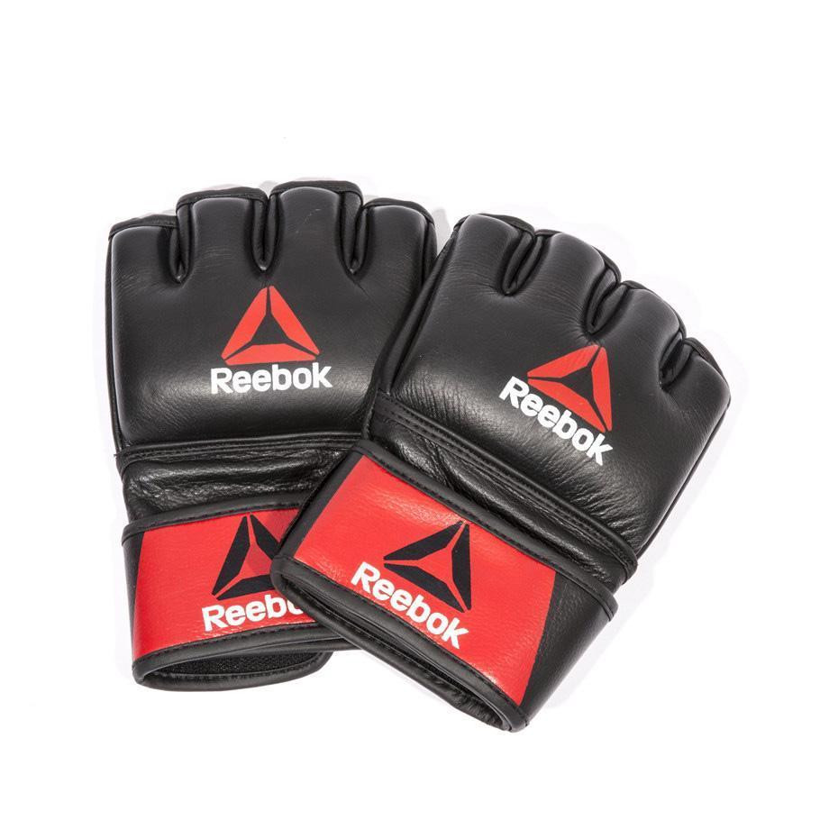 Перчатки MMA Reebok RSCB-10320RDBK кожаные