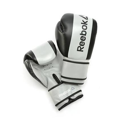 Боксерские перчатки Reebok Retail RSCB-11116GR 16oz grey, фото 2