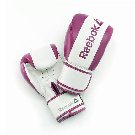 Боксерские перчатки Reebok Retail RSCB-11110PL 10oz purple, фото 2
