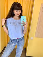 Блуза Жін. 40(р) блакитний 10001 Phardi Туреччина Весна-C