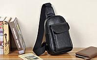 Мужская кожаная сумка. Модель 61244, фото 10