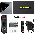 Smart TV Приставка Smart TV A95X F3 AIR 4gb/32гб s905x3 Android 9 (4/32 GB ) Настроена для Украины!, фото 5