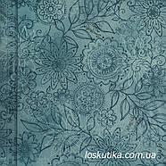 55016 Стильный мотив. Ткань для шитья, руколелия, декора, скрапбукинга, пэчворка., фото 3
