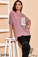 Модный женский костюм с брюками-3 цвета NEW! 50-52 54-56 58-60, фото 1