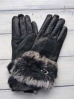 Женские перчатки Felix с мехом 10w-455, фото 1
