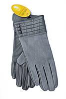 Женские комбинированные перчатки кожа+замша 799, фото 1