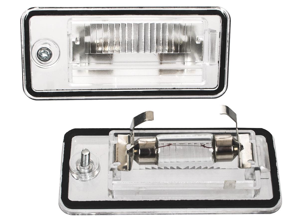 Подсветка номера LED  Audi A3 8P A4 B6 B7 A6 C6 Q7