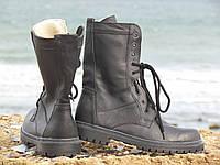 Зимние ботинки, берцы! Натуральная овчина! Размеры 40-45.