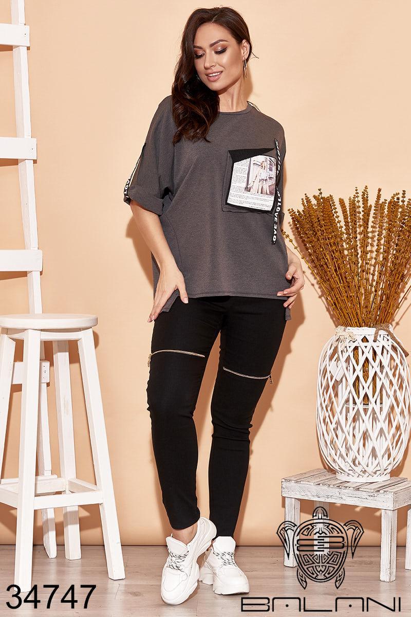 Стильный женский костюм с брюками-хаки NEW! 50-52 54-56 58-60
