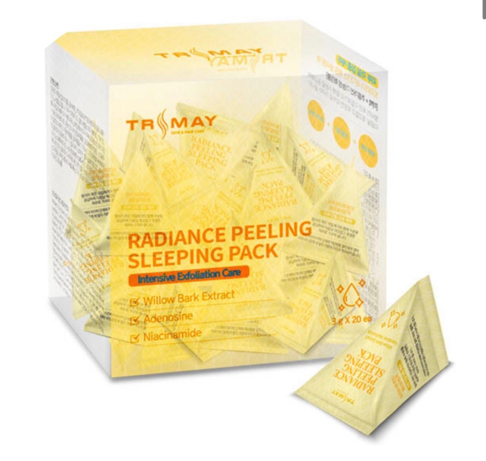 Отшелушивающая ночная маска Trimay Radiance Peeling Sleeping Pack, 3 г