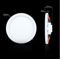Светильник СL-R9W-5 9Вт круглый 5000К, фото 1