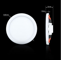 Світильник СL-R9W-5 9Вт круглий 5000К, фото 1
