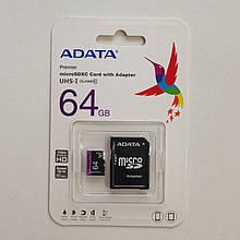 Карта памяти MicroSDHC Adata 6 GB 10 Class