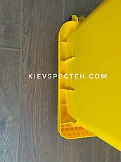 Контейнер пластиковий, iplast EN 840-120 л, фото 3