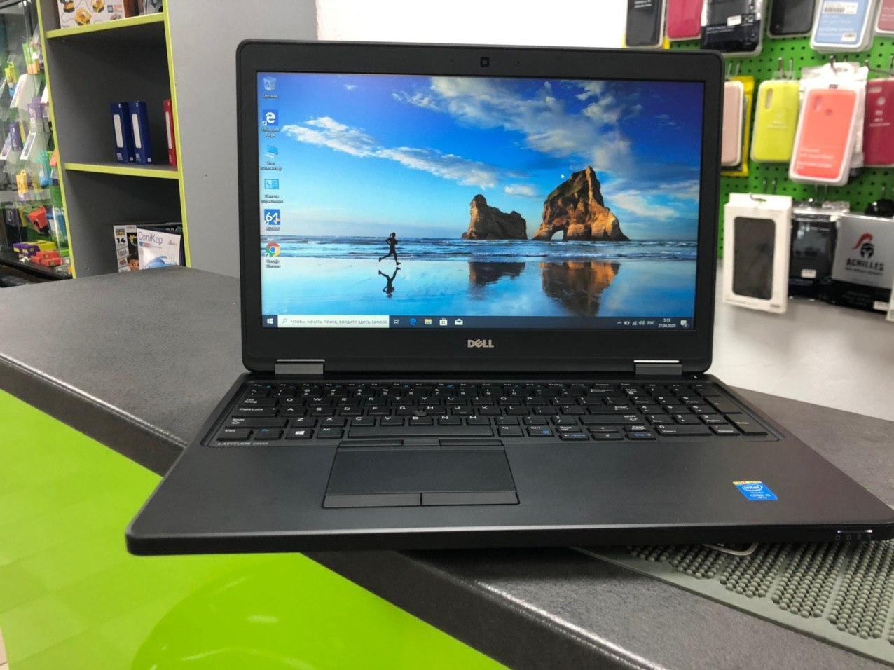 Ноутбук Dell Latitude E5550 | HD 15.6' | i5 -5300U | 8Gb | SSD 120Gb