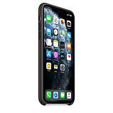 Силиконовый чехол для iPhone 11 Pro / 11 Pro Max, черный цвет, фото 6
