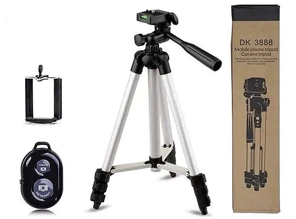 Штатив для камеры и телефона DK-3888 (1020мм) с пультом