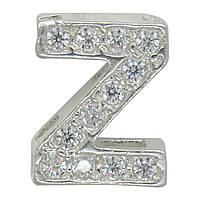 """Серебряная буква на цепочку """"Z"""""""