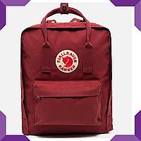 Рюкзак Fjallraven Kanken Classic Burgundy,бордовый, фото 1