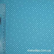 55018 Ткань с геометрическим узорам. Ткани для кукол, пэчворка, трапунто, для художественной стежки., фото 2