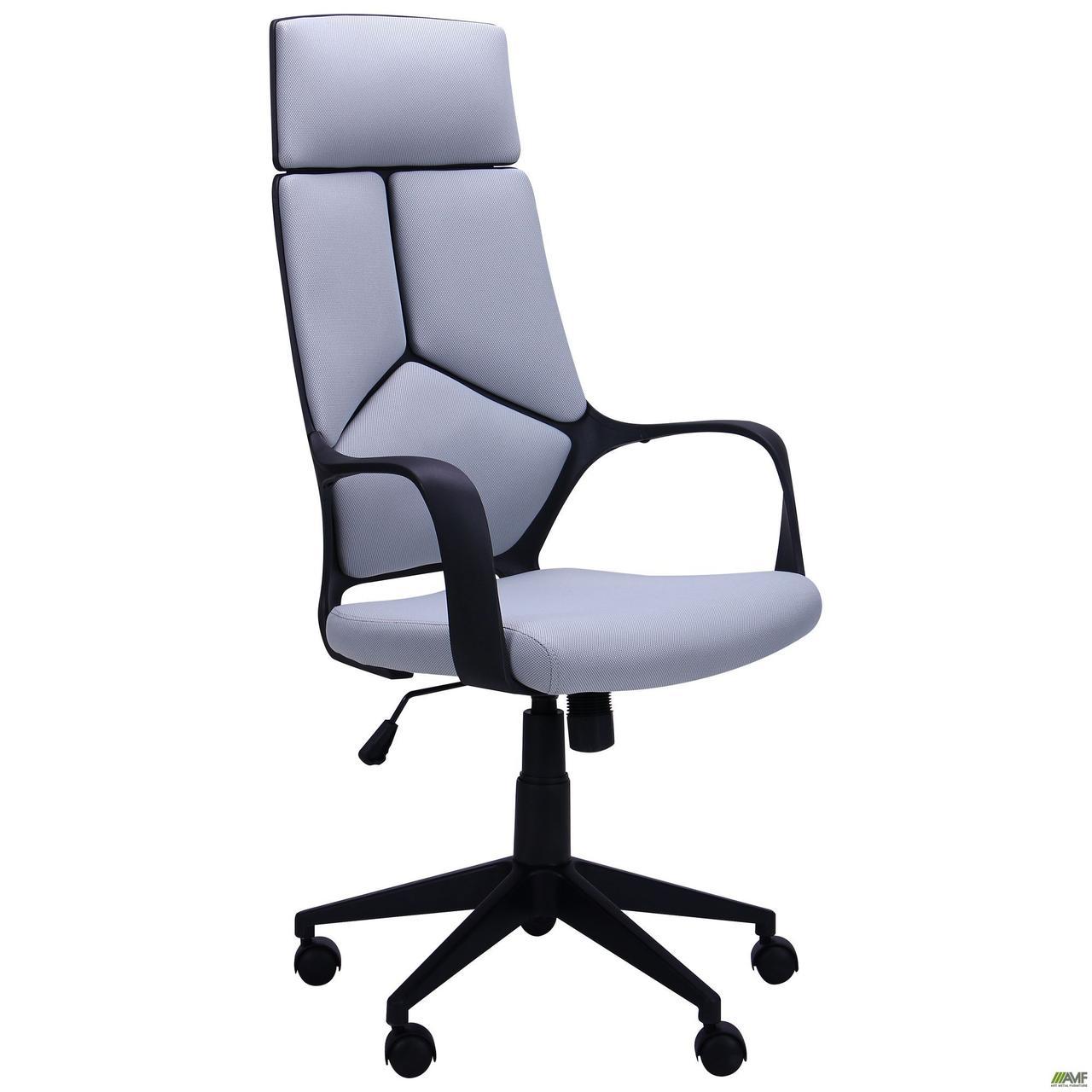 Кресло офисное AMF Urban HB Black серое