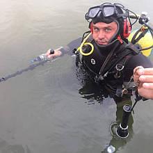Услуги Водолаза с металлоискателем. Подводный поиск.