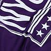 """Футболка спортивная фиолетовый ADIDAS с принтом """"NYC""""  PUR L(Р) 19-900-020, фото 5"""