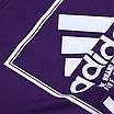"""Футболка спортивная фиолетовый ADIDAS с принтом """"NYC""""  PUR L(Р) 19-900-020, фото 4"""
