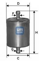 Фільтр паливний LPG (зріджений газ) UFI 31.836.00