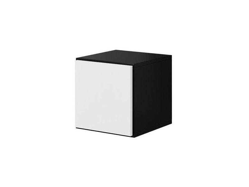 Пенал Roco RO-5 чорний/білий (модульні меблі) (CAMA)