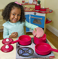 Игровой набор деревянной посуды, MD12610, Melissa&Doug