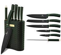 Набор ножей с подставкой Berlinger Haus Emerald Collection 7 предметов BH 2525