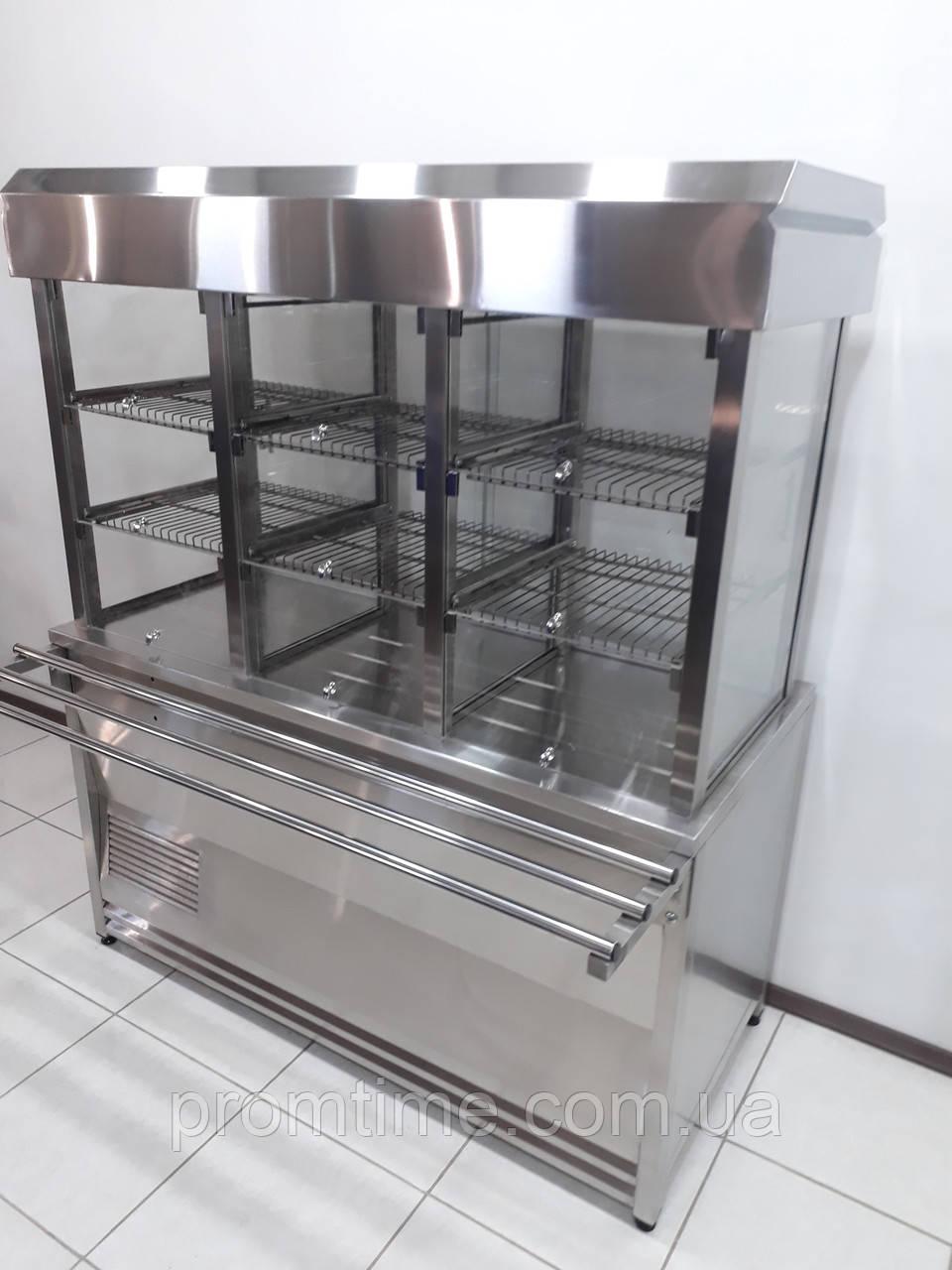 Витрина холодильная кондитерская 1500х700х1800 (3-x секционная)