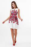 Разноцветные цветы платье Альба б/р, фото 2